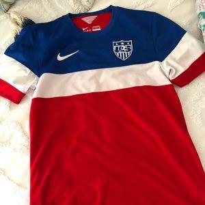 US soccer jersey